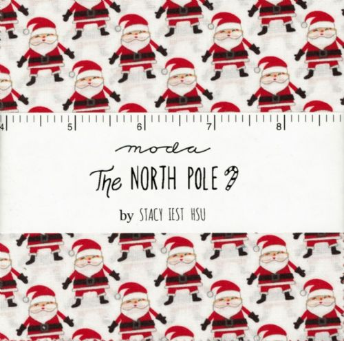 "Moda Charm Pack - The North Pole  (42 x 5"" patchwork fabric squares)"